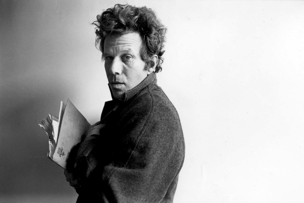 Tom Waits: Tells his creative sprites to come back at more convenient moments.