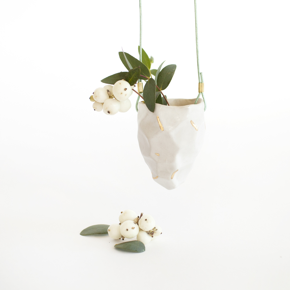 a mano-the object enthusiast-emily reinhardt-ceramic-clay-gold lustre-hanging-planter-handmade-1.1.jpg