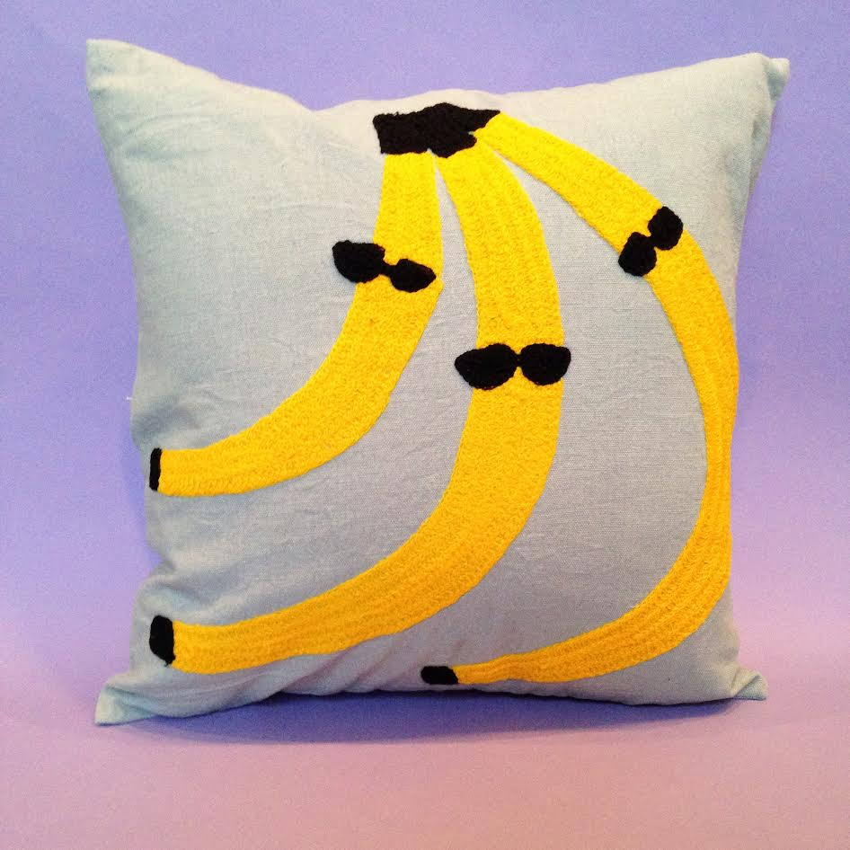 Cool Bananas Pillow