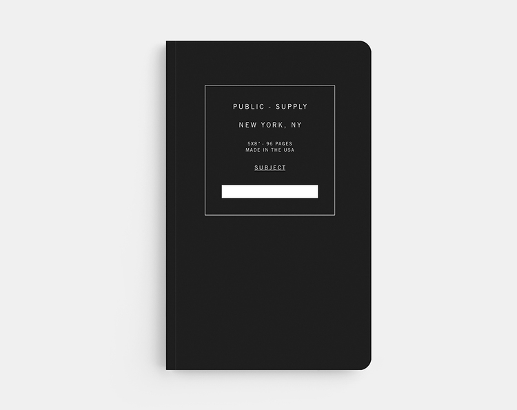 Public Supply Notebook