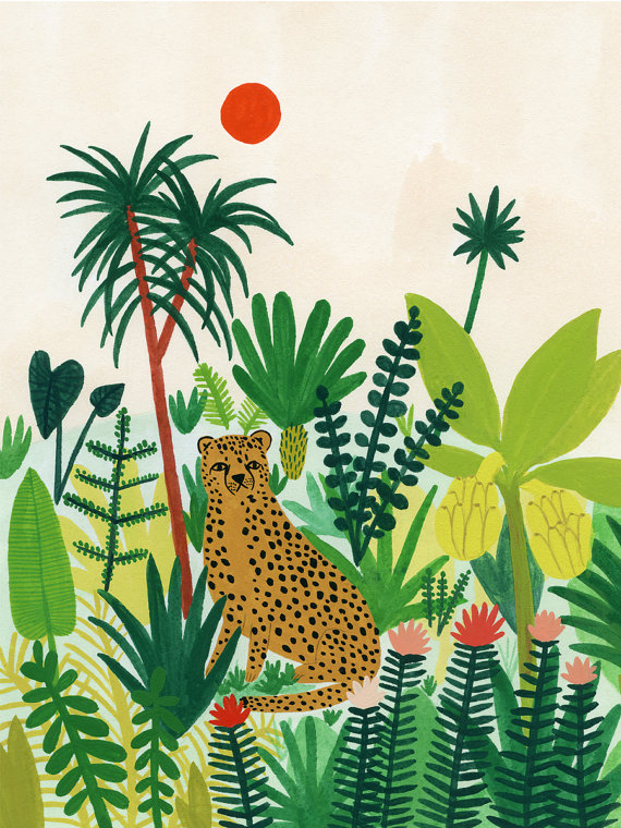 Cheetah by  Kate Pugsley from Chicago