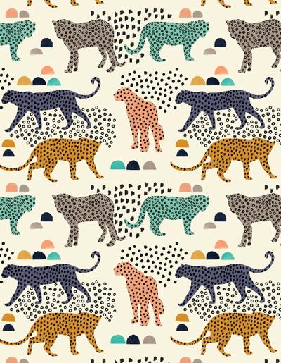 Leopard Spots by  Lamai McCartan