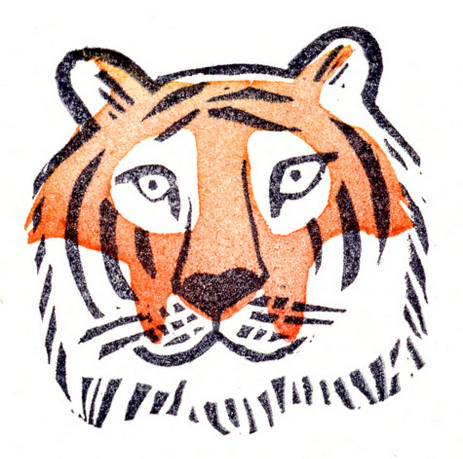 Tiger by  Gertie Jaquet