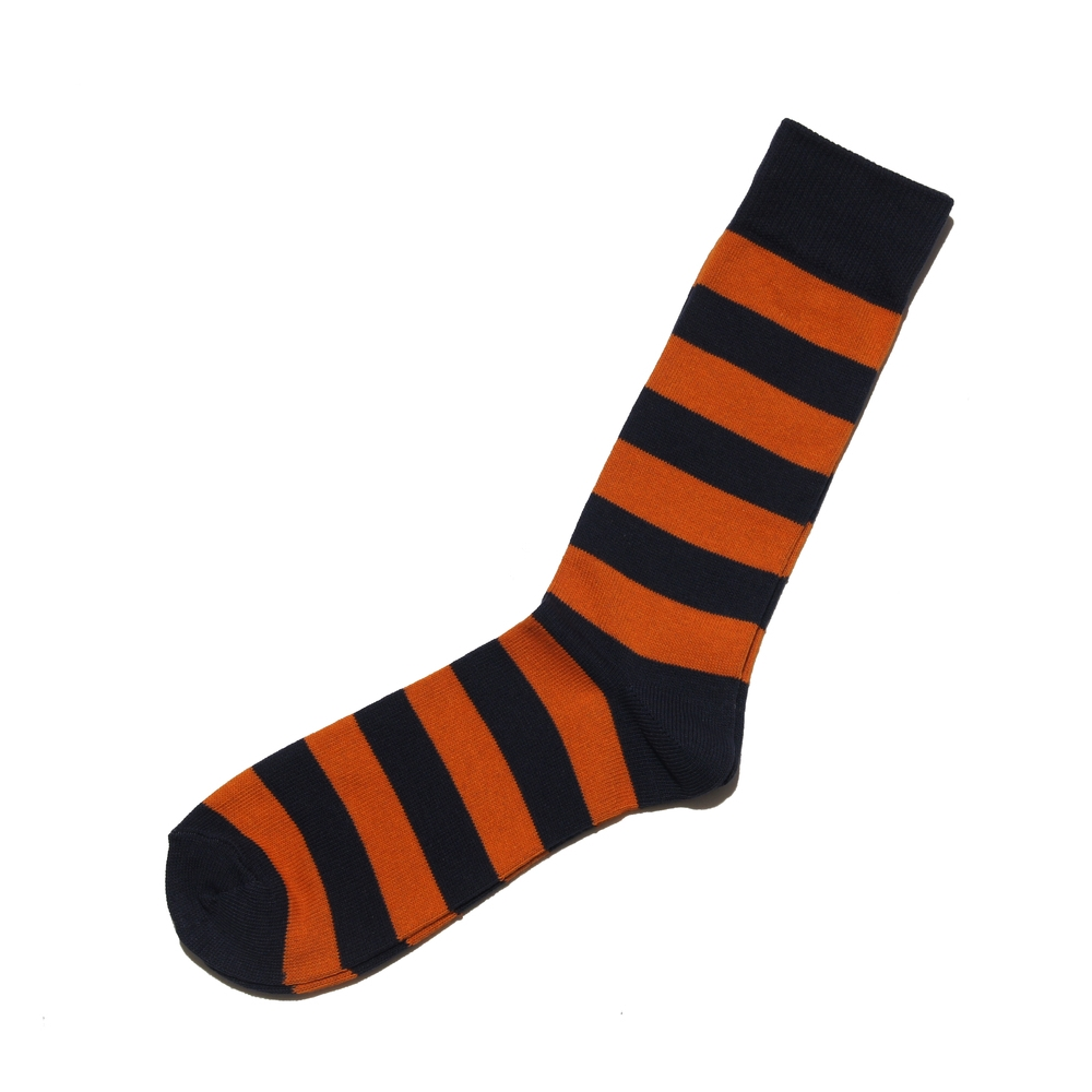 St Brown Stripe Orange