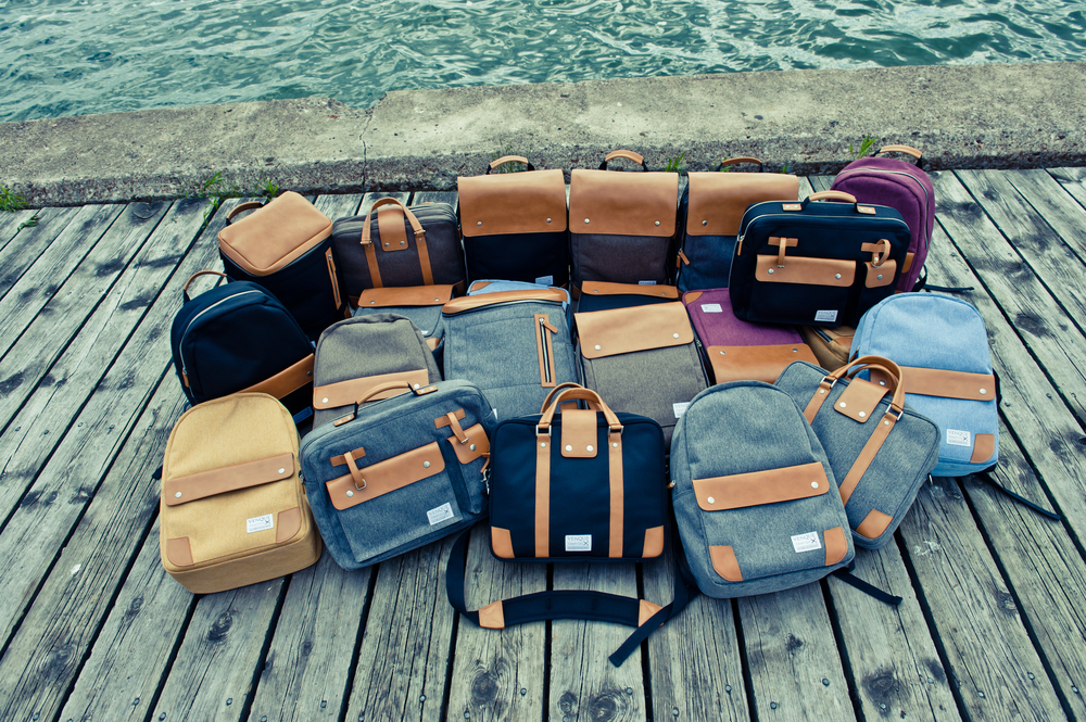 Assorted bags and accessories