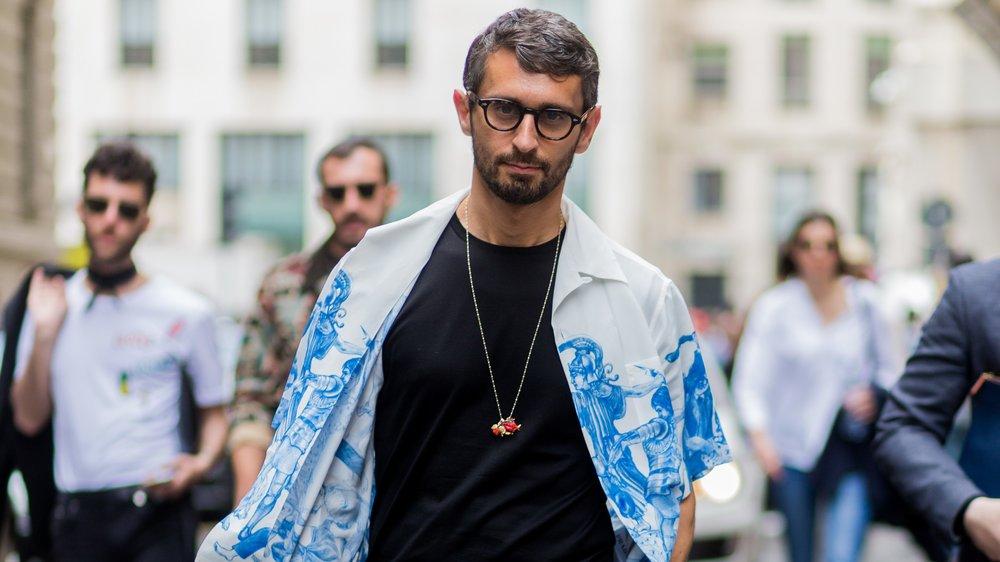 La Repubblica Fashion Editor Simone Marchetti