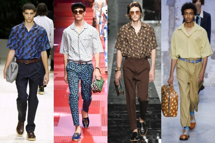 From left to right: Salvatore Ferragamo, Dolce & Gabbana, Fendi, Marni    Credit: Lifestyleasia
