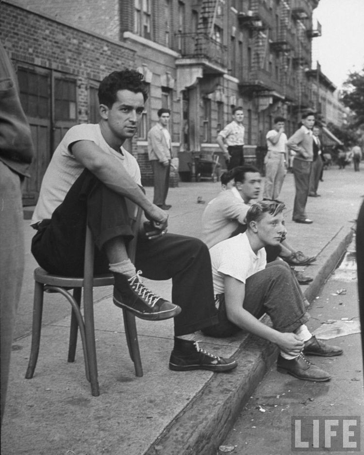 Street Scene, New York City, 1950s