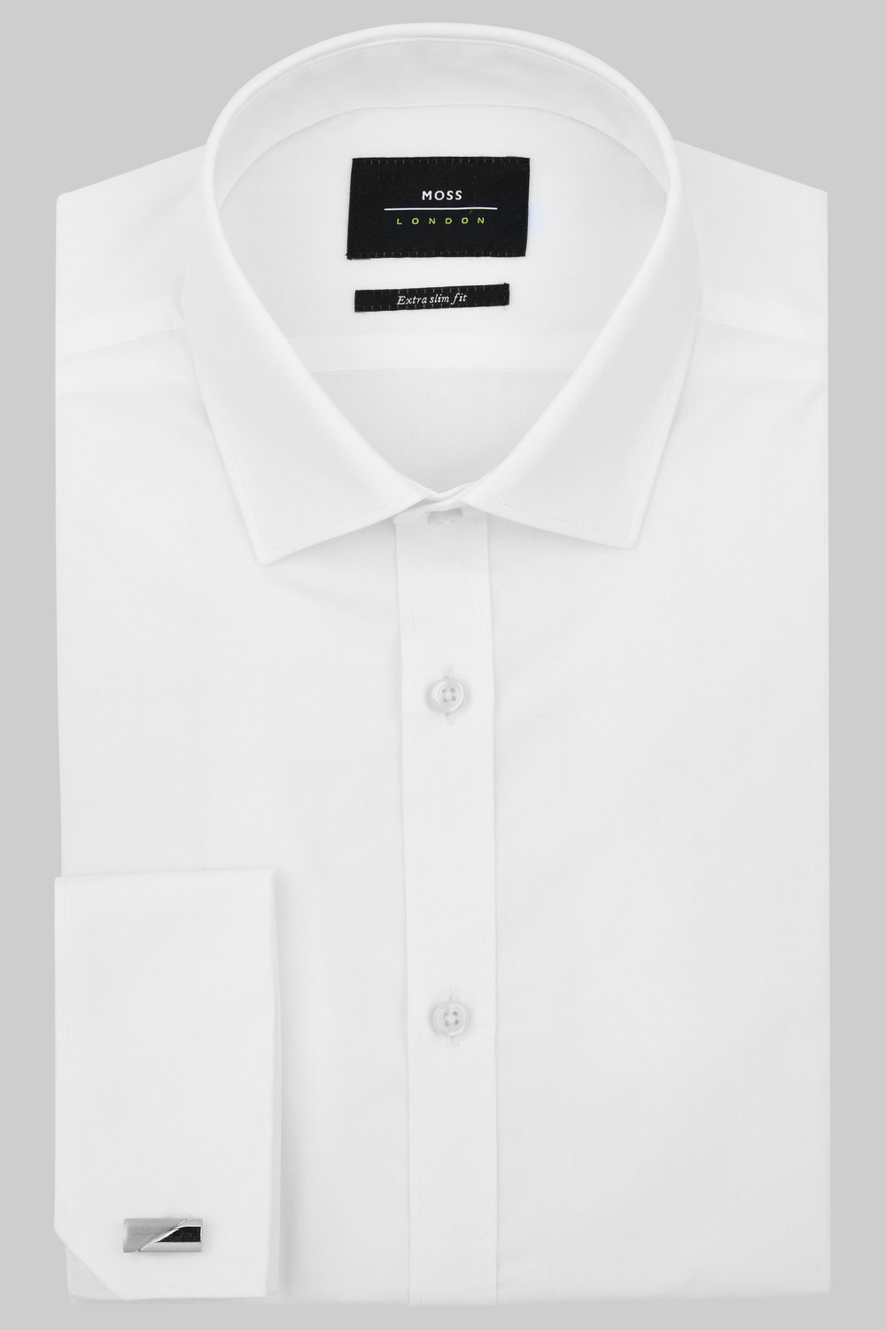 #1 White Dress Shirt  - Fresh and crisp, the white dress shirt can be dressed down or worn at more formal occasions.