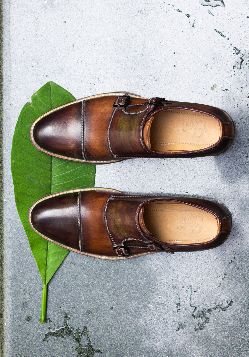 #7 The brown monkstrap  - The monkstrap is a classical shoe, more formal than a derby but less formal than a full oxford. Sartorial boldness, modernity, and fashion forwardness.