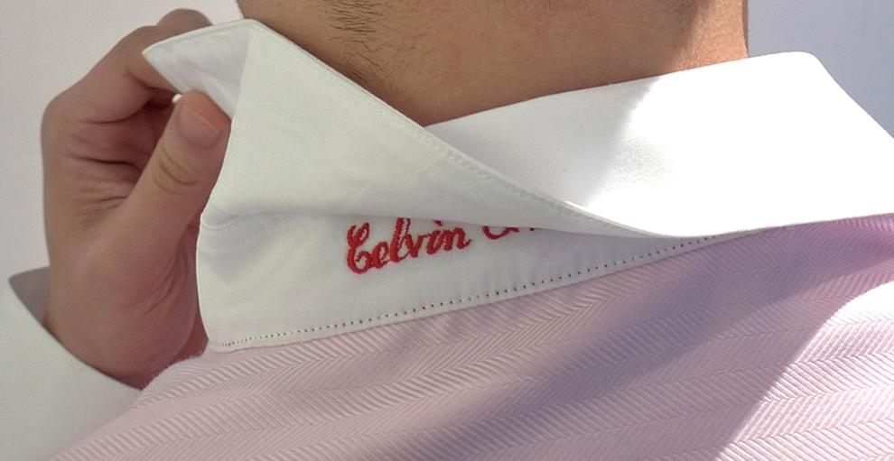 "Optional under collar ""secret message"""