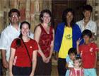 Group Photo: Kristin & Dave, Lori, A-wa & A-paw's Family