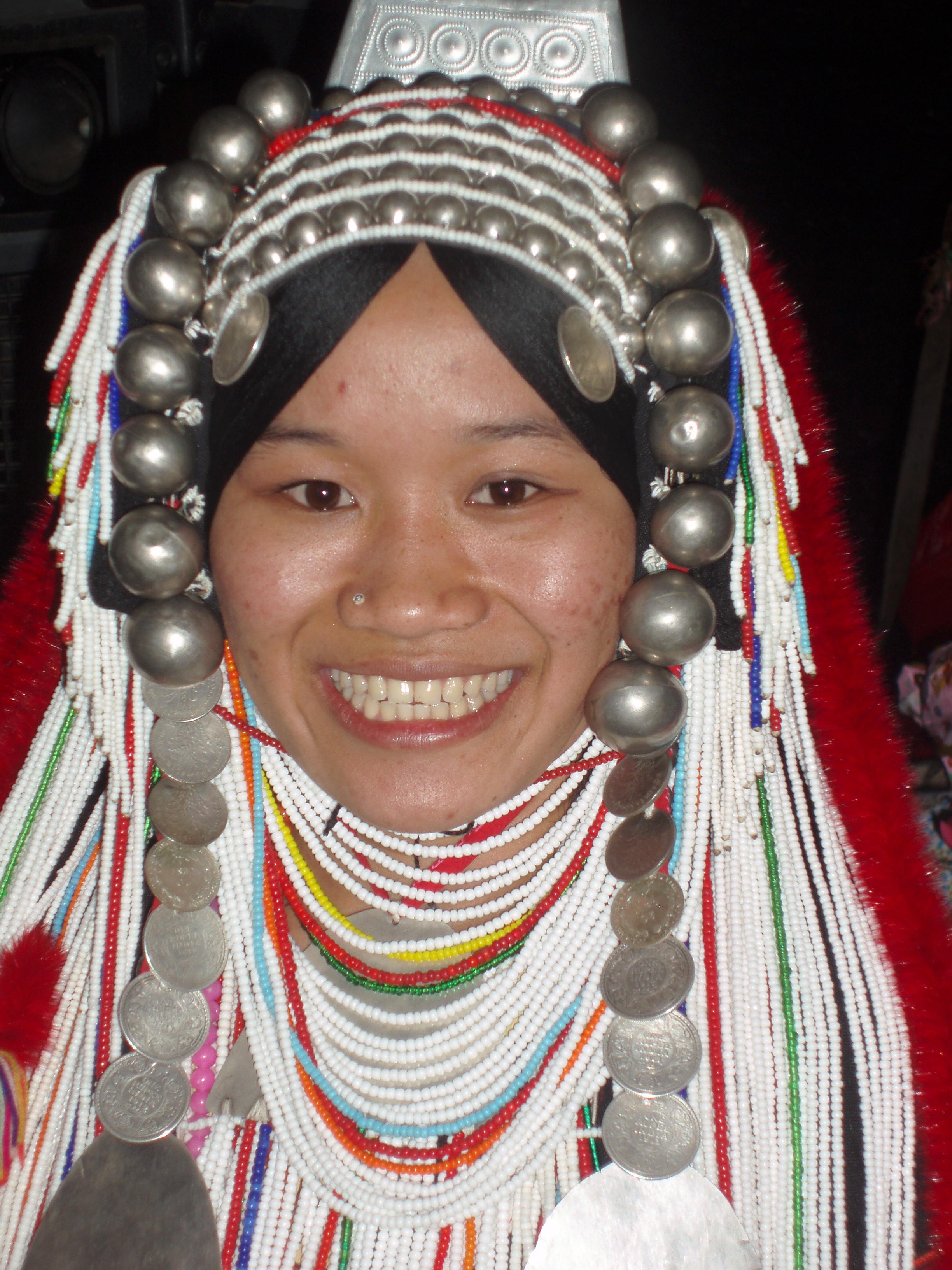 Esther Akha Headdress