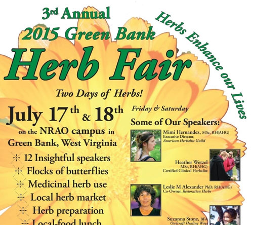 Green Bank Herb Fair