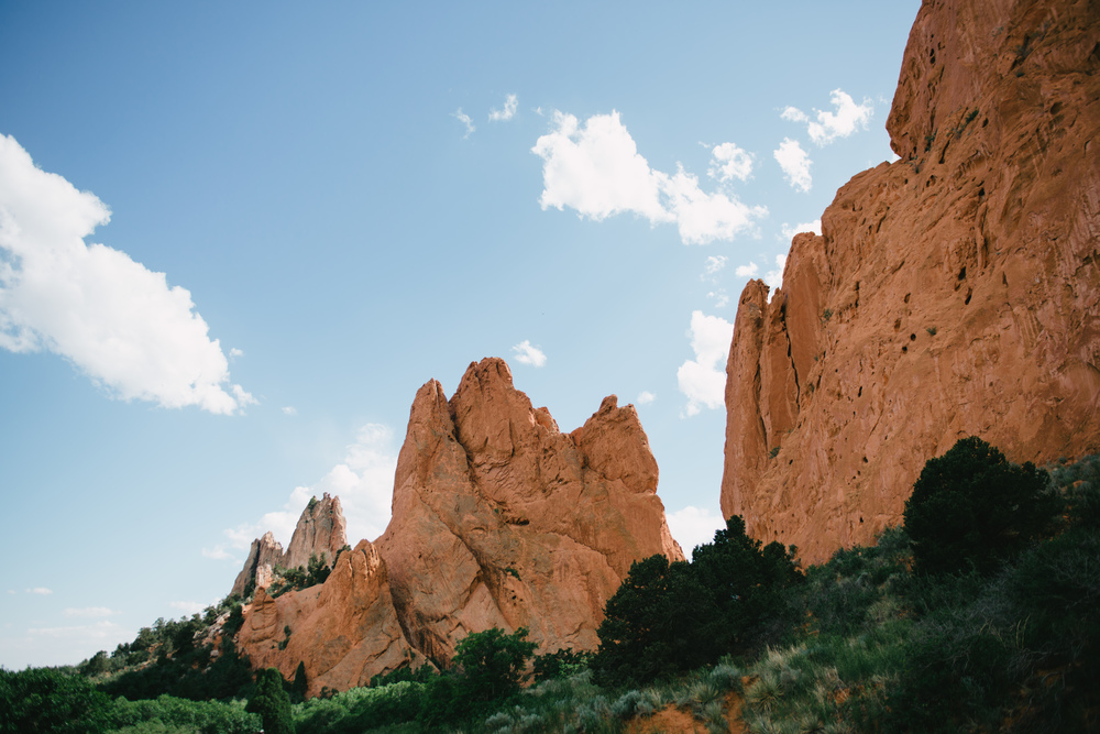 What's a post without a pretty picture? This is from our Colorado trip this summer. Sweet memories.