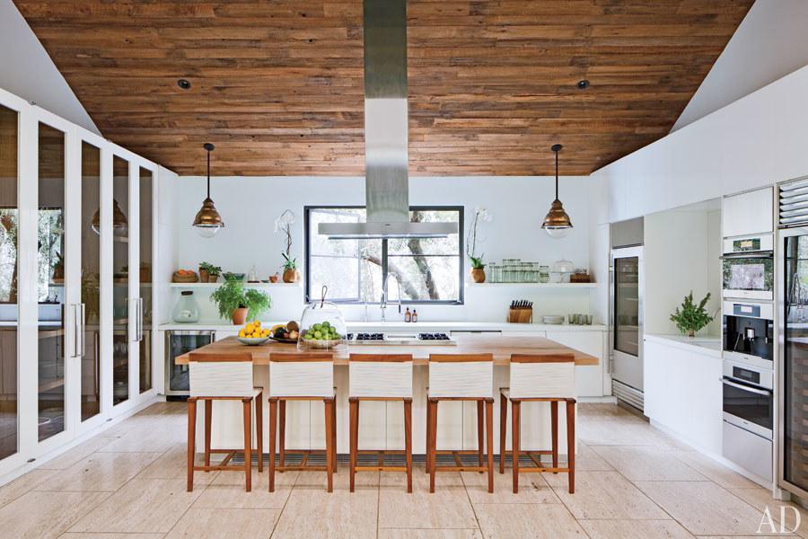 Jenni Kayne's house via  Architectural Digest