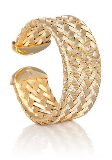 Roberto Coin Gold Cuff