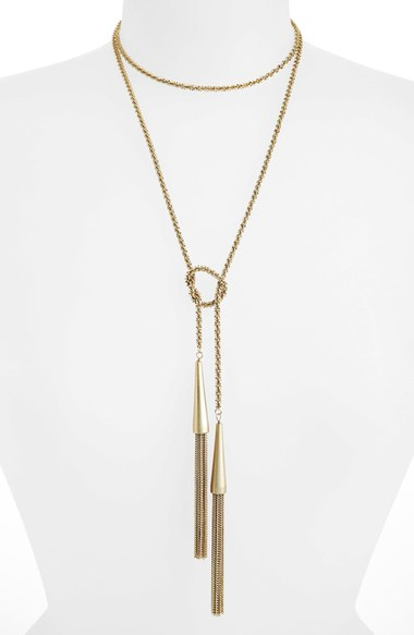 Phara Tassell Lariat Necklace Kendra Scott