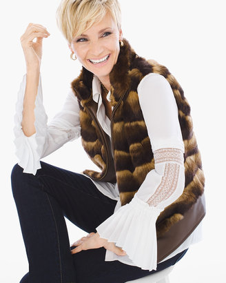 Faux-Fur Vest Chico's