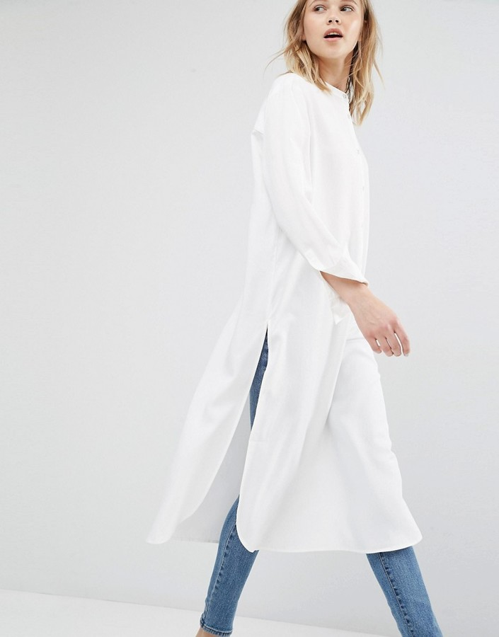 DR DENIM OVERSIZED SHIRT