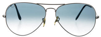 RAY-BAN GRADIENT AVIATOR SUNGLASSES