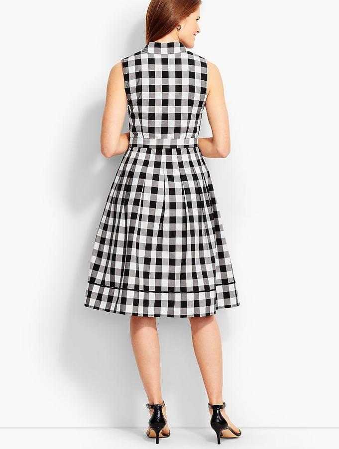 Talbots Gingham Shirtdress