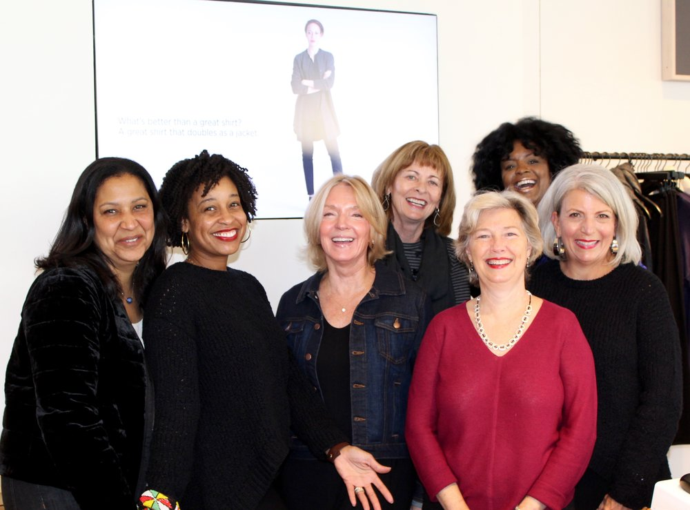 The beautiful women of Eileen Fisher Charlotte!