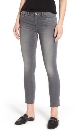 PAIGE Verdugo Raw Hem Ankle Skinny Jeans
