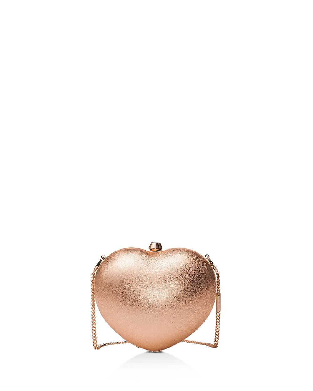 Michael Michael Kors Pearl Heart Small Leather Clutch