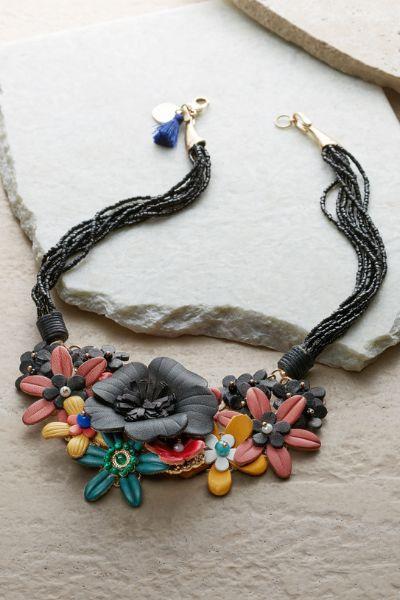 Tropical Floral Necklace