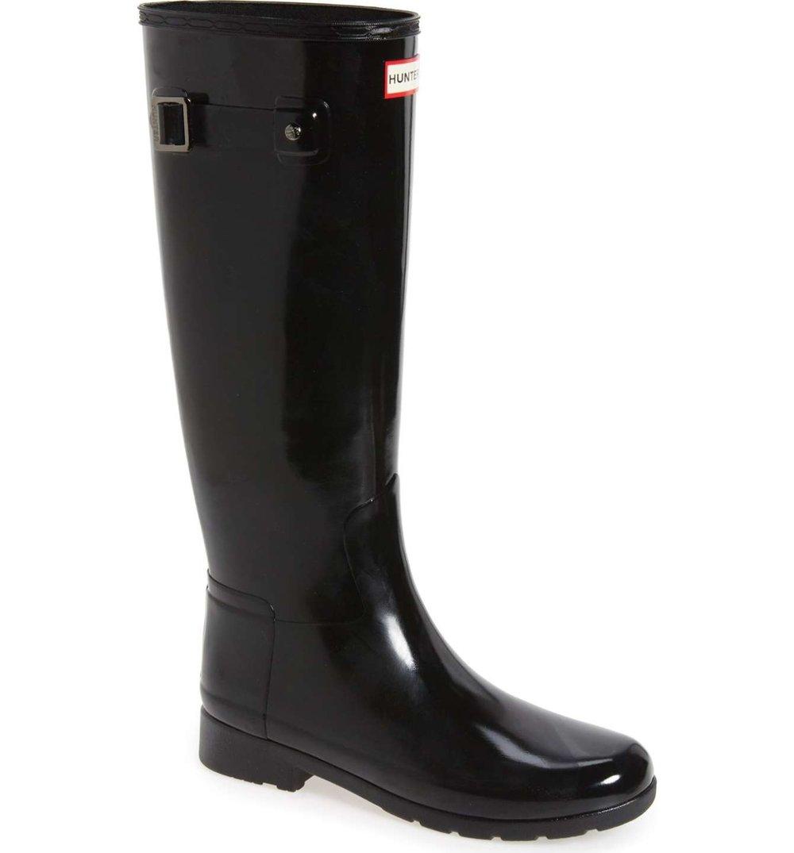 'Original Refined' High Gloss Rain Boot HUNTER