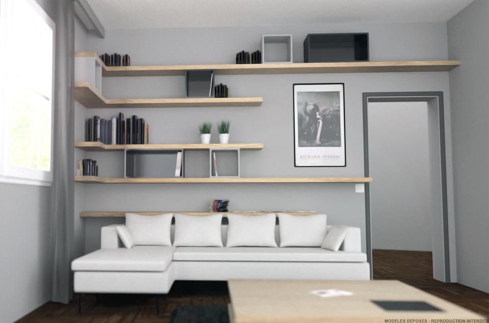 Superbe Bibliotheque De Salon Design #2: ... Delicieux Bibliotheque De Salon Design #11: 75016, ...