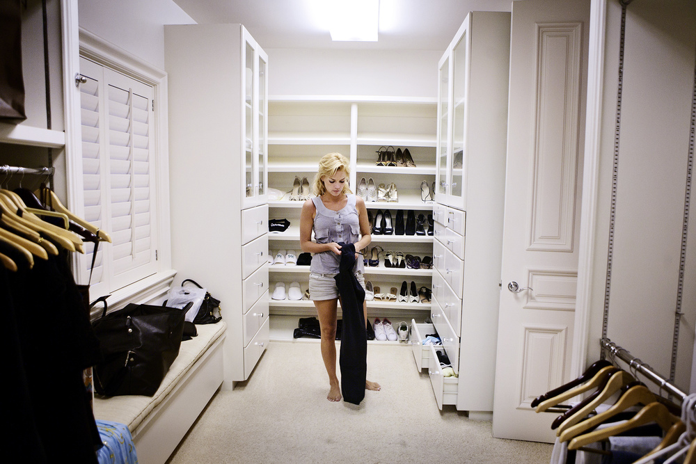 Closet in rented house