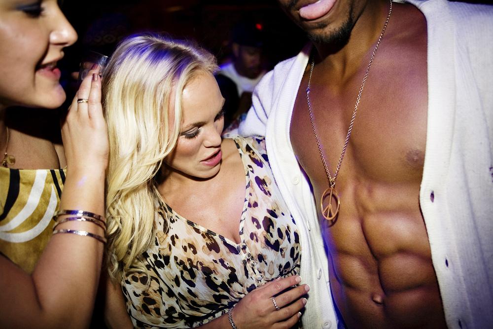 Clubbing in downtown LA
