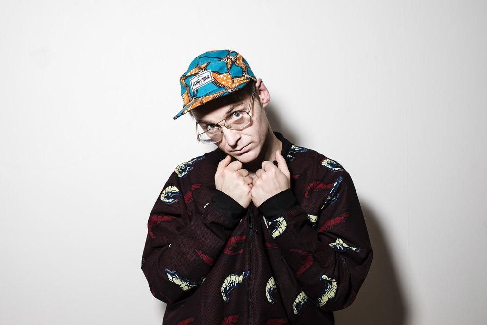Frej Larsson, rapper