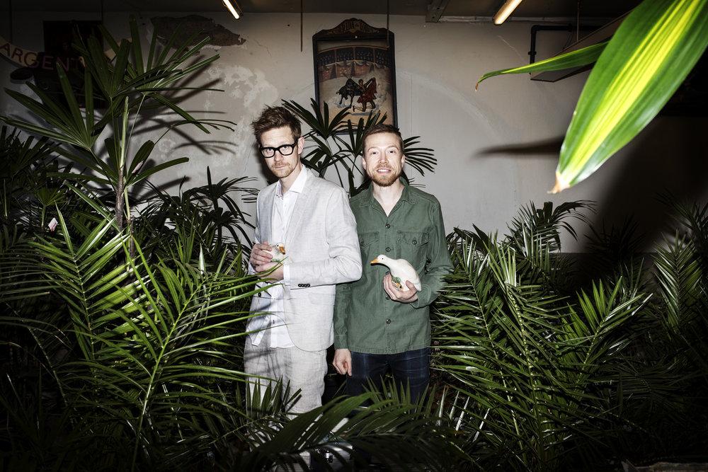 Anders & Måns, radio hosts