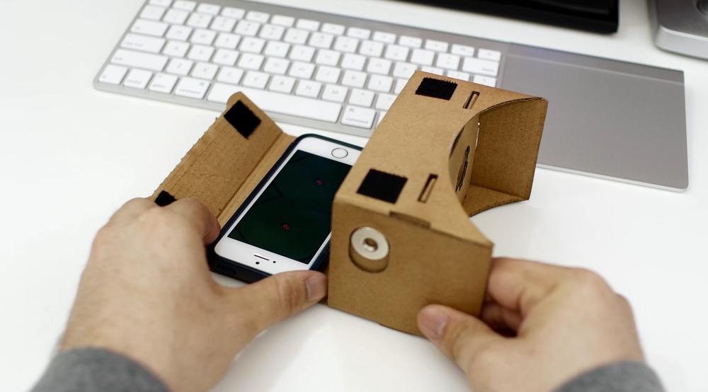 Assembling Cardboard VR