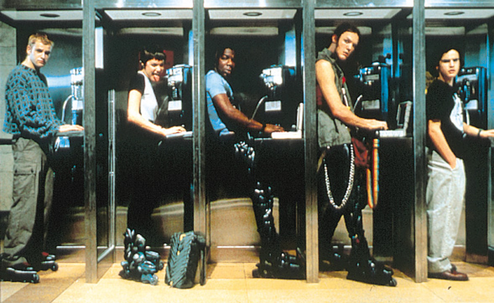 Don't worry, we don't actually make them work from phone boxes as in Hackers.......