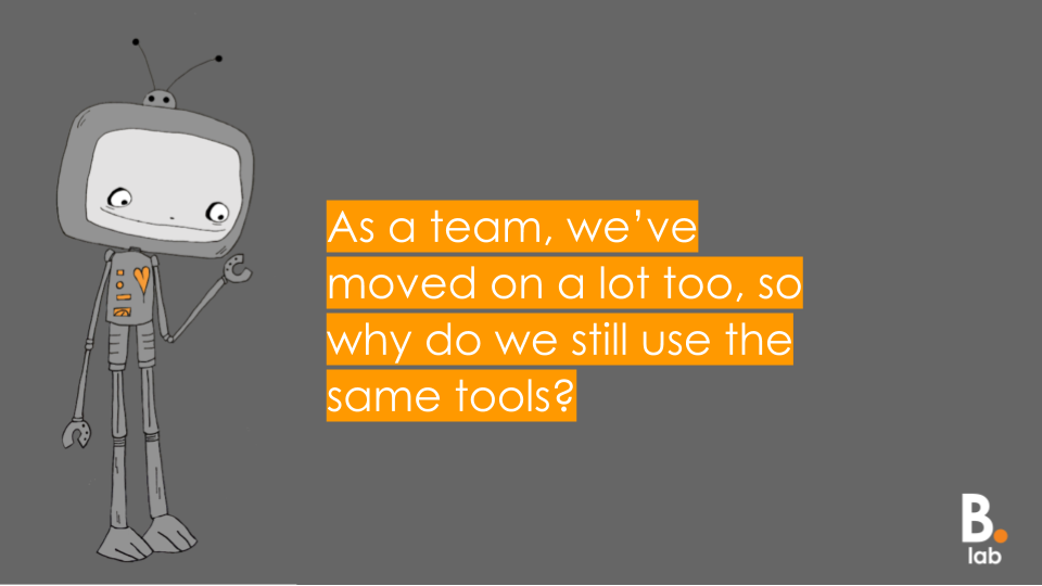 Michelle    set out a challenge - is it time to refresh our toolkit?