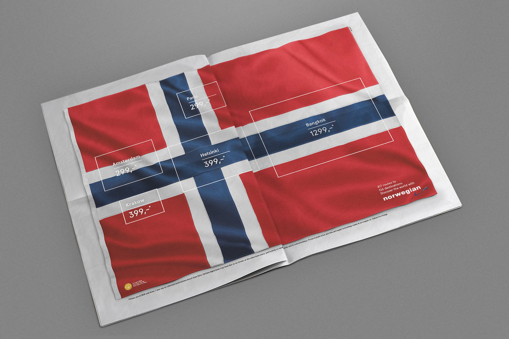 Norwegian Airlines – Flag of Flags