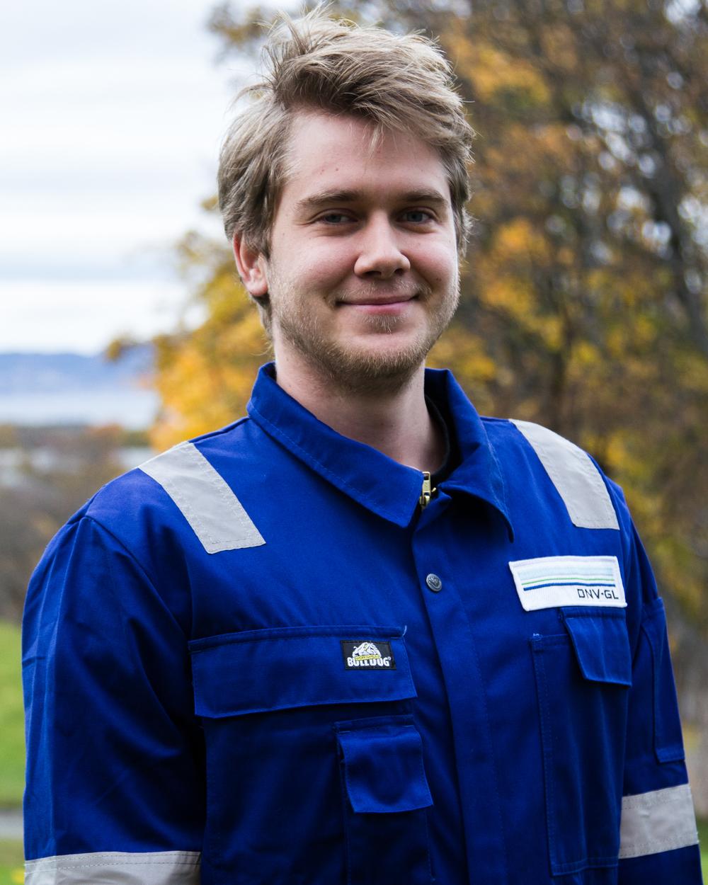 Vebjørn Røed Myklebust –Head electronics engineer Studies: Cybernetic engineering Campus: NTNU Gløshaugen Hometown: Volda, Norway