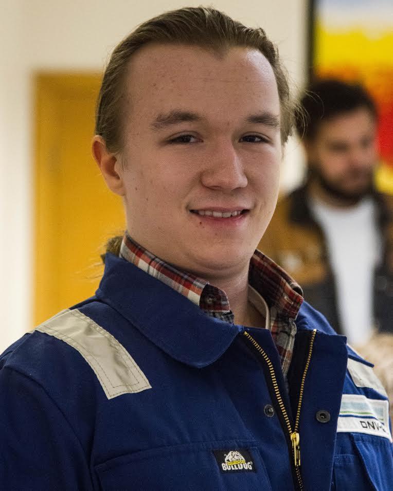 Ferdinand Solvang – Material Studies: Mechanical Engineering Campus: NTNU Gløshaugen Hometown: Drøbak, Norway