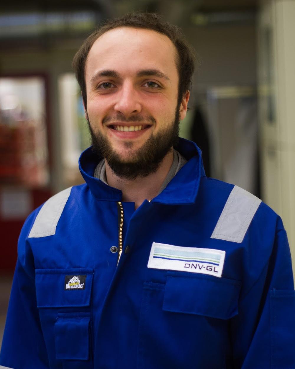 Sacha Danjou– Motor Controller Studies:Power Engineering Campus: NTNU Gløshaugen Hometown: Rouen, France