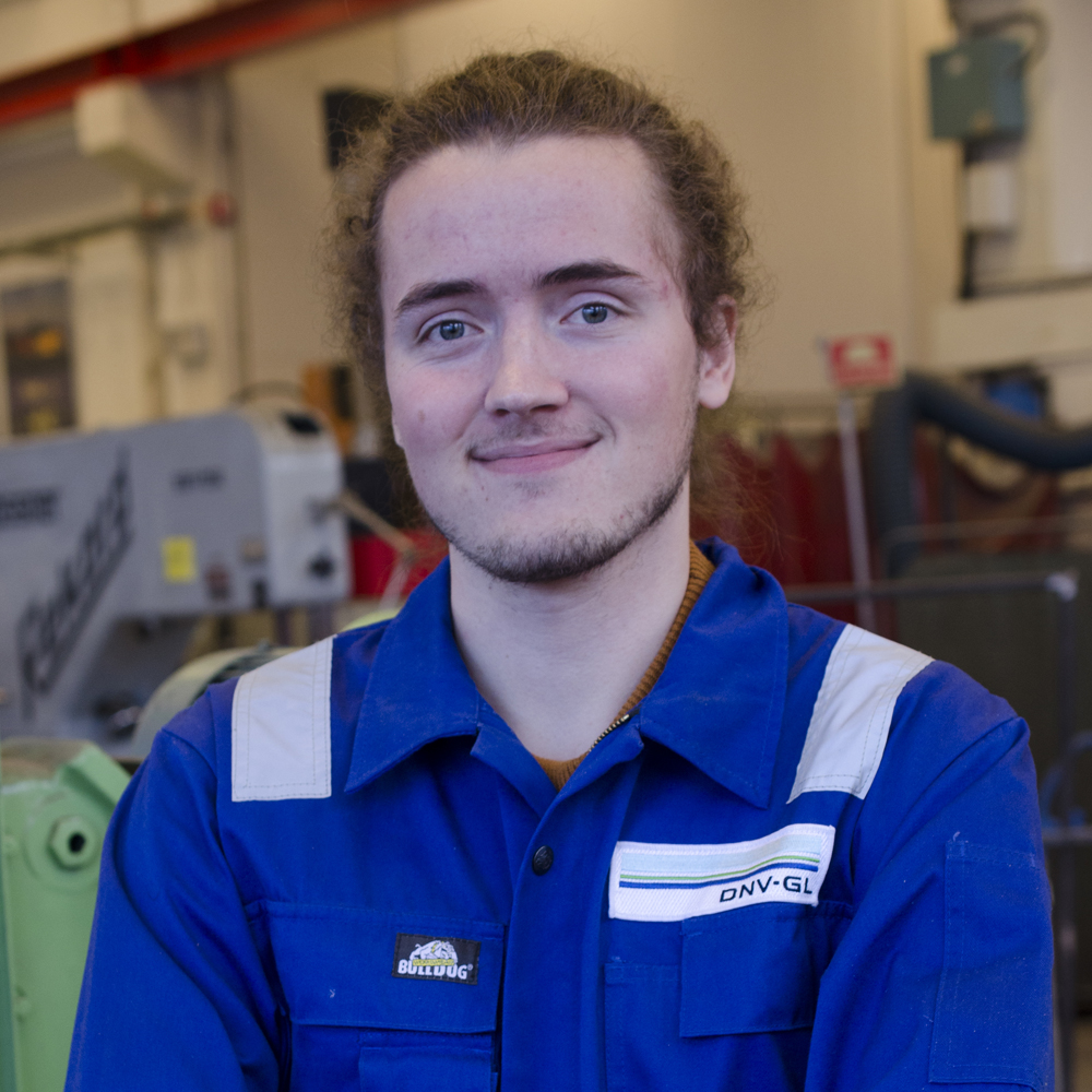Steering Håvard Mitter Vestad Product Development and Materials Engineering, 4th year Hometown: Stavanger