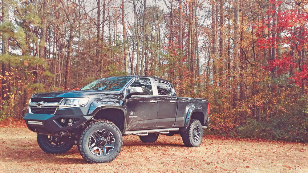 Copy of SCA Chevy Colorado Black Widow