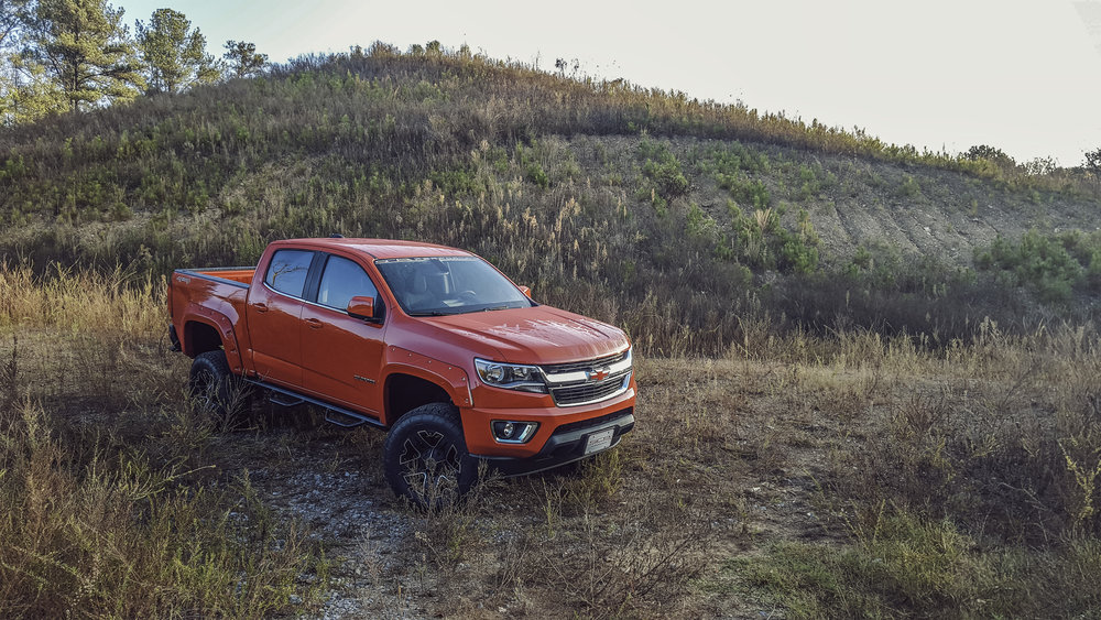 Copy of SCA Chevy Colorado - Red Hot