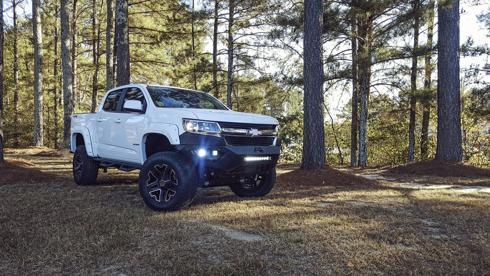 Copy of SCA Chevy Colorado - White