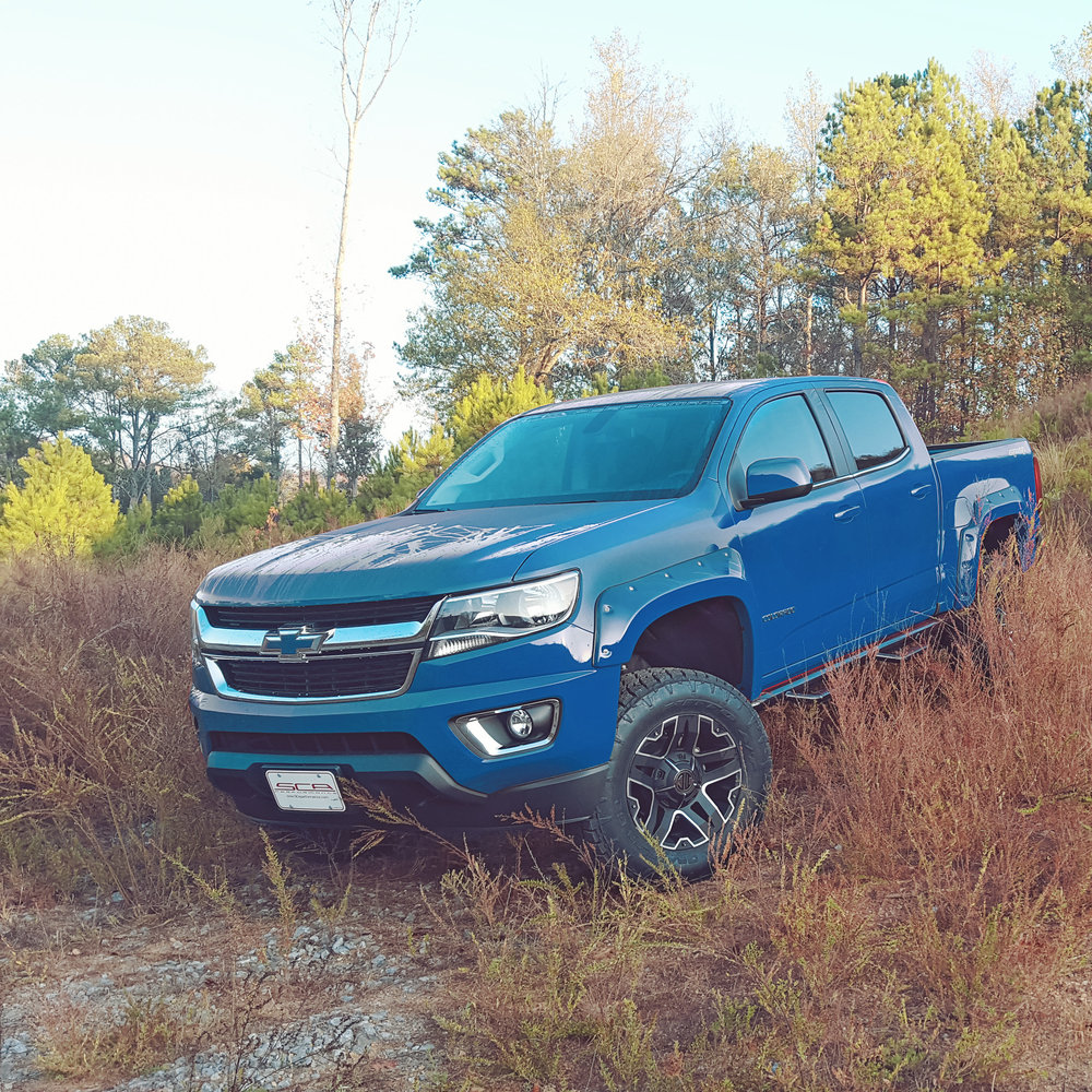 Copy of SCA Chevy Colorado - Laser Blue Metallic