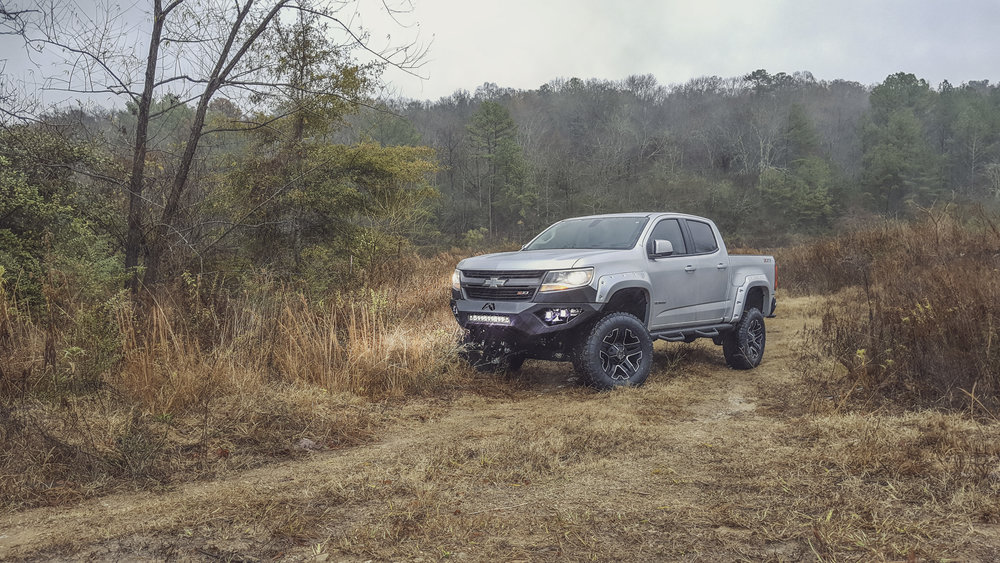 Copy of SCA Chevy Colorado - Silver Ice Metallic
