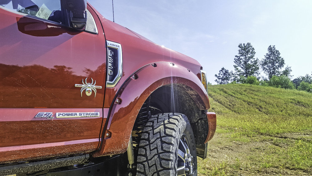 Ford F-350 Flares and Badging